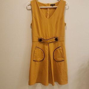 Smak Parlour M Vintage Mustard dress